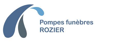 logo pompes funebres rozier